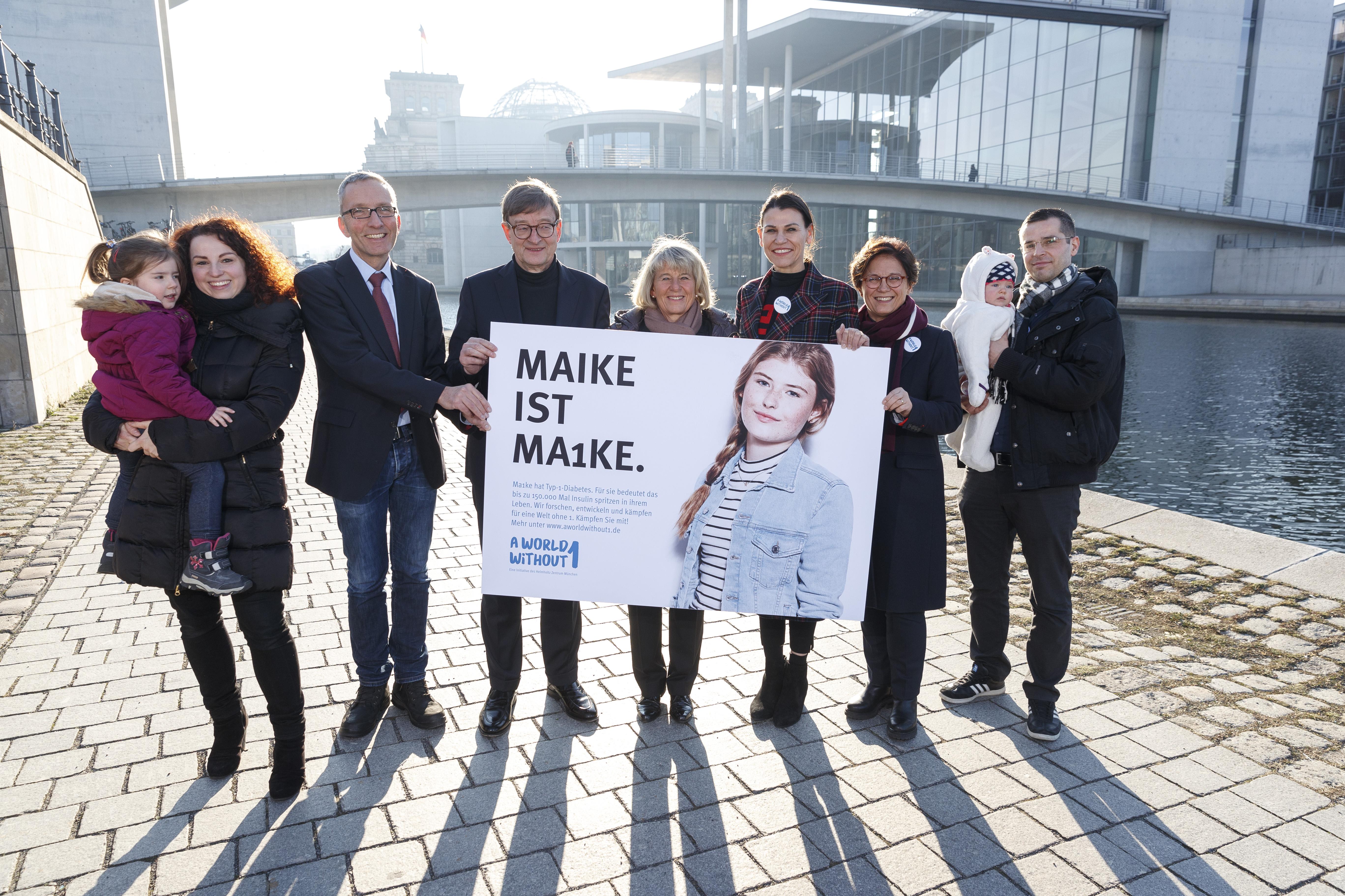 Pressekonferenz und Mittagsempfanganlässlich des Kampagnenstarts | A world without 1 |  22. Januar 2019